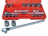 ATD Tools 10021 21 pc. 6-Point Fractional Socket Set
