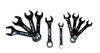 ATD Tools 1180 10 pc. Stubby Wrench Set - Metric