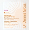 Alpha Beta Glow Pad for Face<BR>20 Pack<BR>by Dr. Dennis Gross