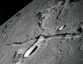 Apollo 10 Lunar Rille