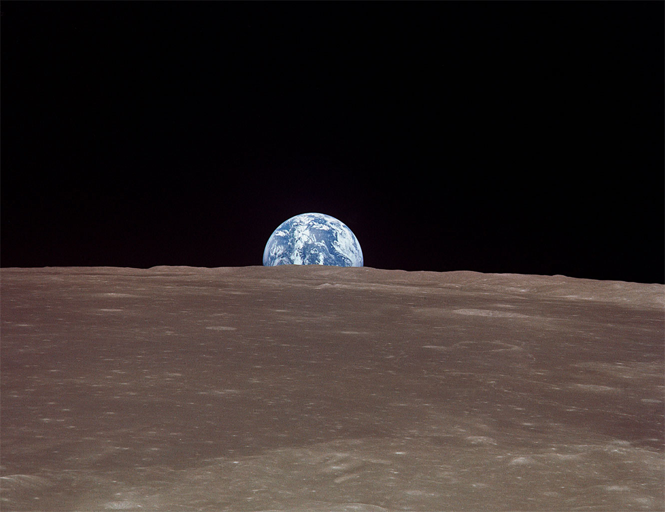 earthrise from moon apollo - photo #36