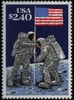 Apollo 11 Moon Flag Stamp