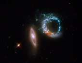 Arp 147 Interacting Galaxies