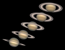 Changing Seasons of Saturn