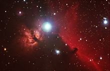 Crisp Flame and Horsehead