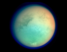 First Cassini Titan