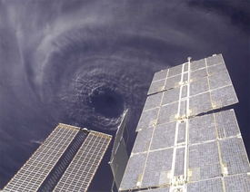 Hurricane Ivan from ISS