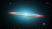 M104 Sombrero Galaxy in Infrared