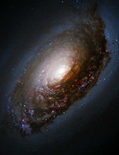 M64 Hubble  Black Eye Galaxy