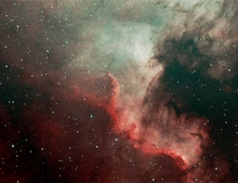 NGC 7000 North American Nebula