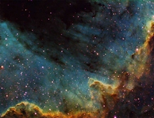 North American Nebula Great Ridge
