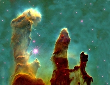 Pillars of Creation Photo