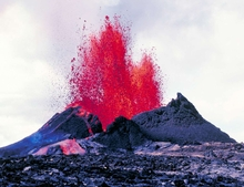 Pu'u Lava Fountain