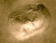 Real Face on Mars