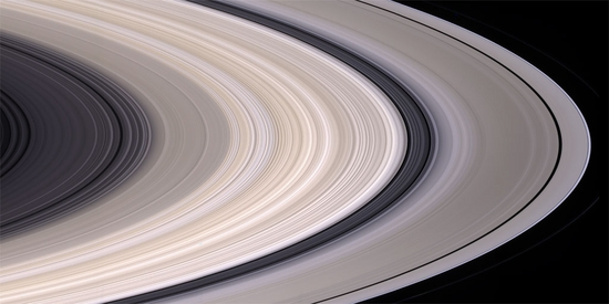 Saturn Ring Panorama