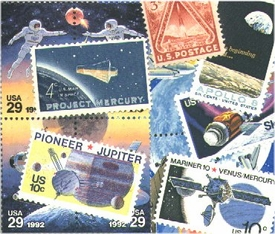 Space Stamp Collection