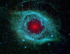 Spitzer Eye of God