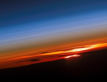Sunset Planet Earth