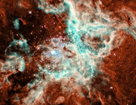 Vast Star Forming Region