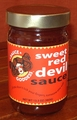 Sweet Red Devil Sauce 13 oz.