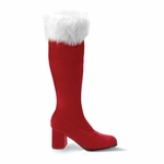 "3"" Mrs. Claus Boots * GOGO-300F"