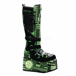 "4 1/2"" Cyber Knee Boot * TECHNO-856UV"