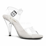"4"" Stiletto Heel Ankle Strap Sandal * CARESS-408"