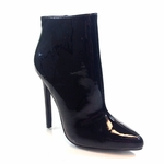"5 1/4"" Sexy Ankle Covered Bootie  * HHC-HOTTIE-31-BK6"