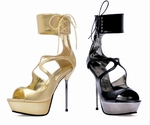 "5"" Metallic Stiletto Sandal * 567-PETRA"