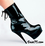 6? Back Lace Ankle Boot * C-2