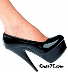 "6"" Heel Platform Closed Toe Pump * 110-P"