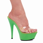"6"" Pointed Stiletto Sandal * 609-RAVE"