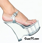 "6"" Wedge Ankle Strap Sandal * 601"