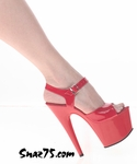 "7"" Heel Platform With Ankle Strap * 701"