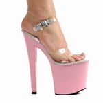 "8"" Clear Heels * ELC-821-BROOK-CL7"