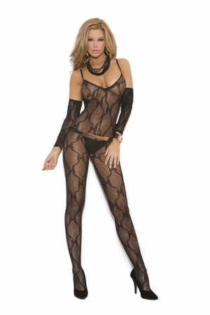 Bow Tie Lace Bodystocking * 1604