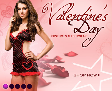 Valentines Day Costumes & Footwear