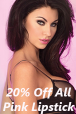 20% Off All Pink Lipstick