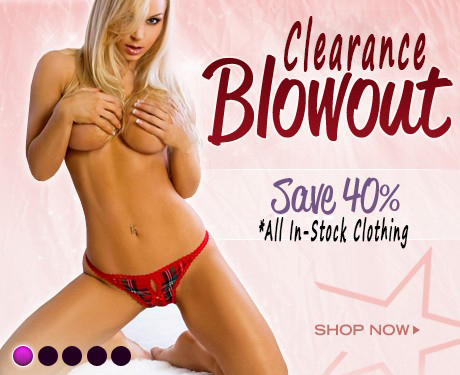 40% Off Clearance Sale