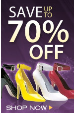 70% Off Shoes