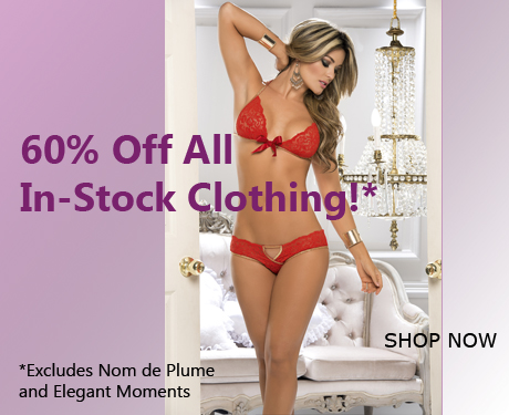60% Off All In-Stock Clothing