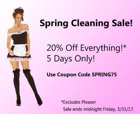 Spring Cleaning Sale - 20% Off!