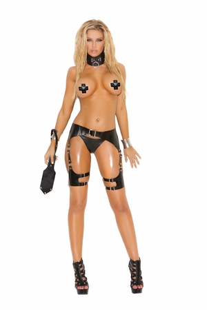 Leather Waist To Thigh Harness * L9703