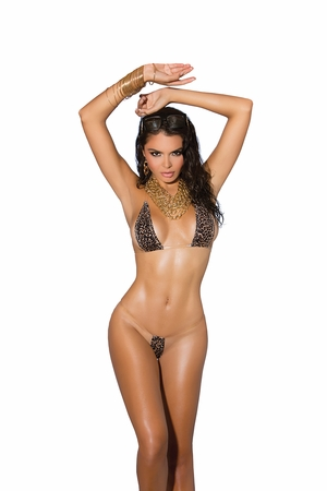 Lycra Bikini Top and G-String * 8952