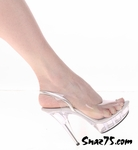 Tony's Shoes 409-5, Size 7, Clear