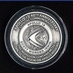APOLLO 15 MEDALLION - Contains metal flown to the moon on Apollo missions!