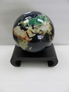 Arched Pedestal black wood base for 4.5 inch MOVA Globe