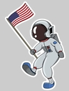 'Astronaut Dad' Auto Decal