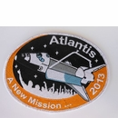 "'Atlantis...A New Mission'  5"" Embroidered Patch"