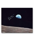 Frank Borman  'EARTHRISE' 8 X 10 Autographed Photo